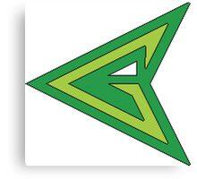 "Green Arrow ""G"" Canvas Print"