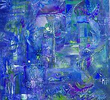 Busy Blue by MelDavies