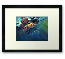 """Full Sail"" Framed Print"