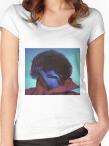 Portrait of a Polar Explorer Women's Fitted Scoop T-Shirt