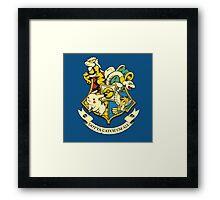 pokemon hogwarts logo Framed Print