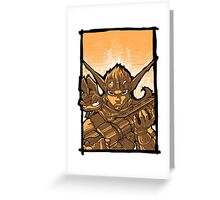 Jak & Daxter Greeting Card