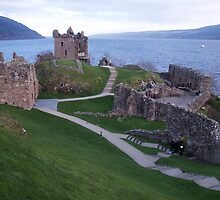 Loch Ness Castle by Donna Barr