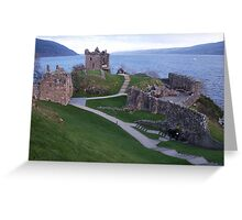 Loch Ness Castle Greeting Card
