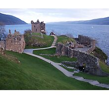 Loch Ness Castle Photographic Print