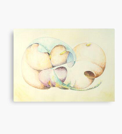 "Odalisque - watercolor - 10"" x 8"" Canvas Print"