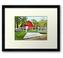 Country Colors Framed Print