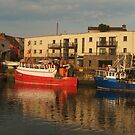 Balbriggan Harbour  by Martina Fagan