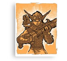 Daxter and Jak Canvas Print