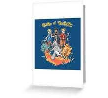 game of pockets Greeting Card