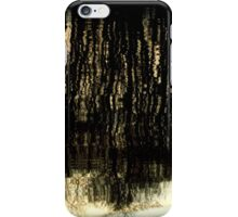 Sunset Tree Reflections Abstract Light Patterns iPhone Case/Skin