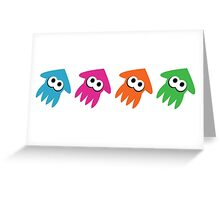 Squids Greeting Card