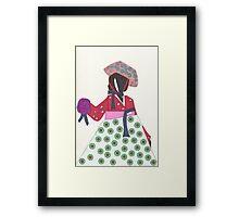 Korean Woman Framed Print