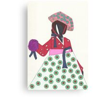 Korean Woman Canvas Print