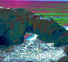 Otter Rock On The Oregon Coast by OneRudeDawg