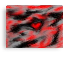 Blurred Emotions Canvas Print