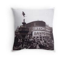 Timeless London Throw Pillow
