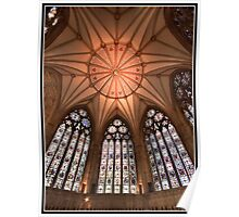 York minster chapter house dome Poster