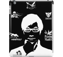 Hideo Kojima Metal Gear - Black iPad Case/Skin