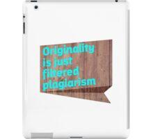 Original Content iPad Case/Skin