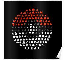 pokeball logo Poster