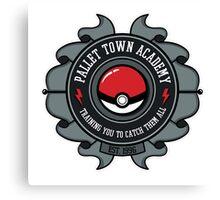 pallet town logo Canvas Print