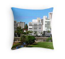 My Waikiki Throw Pillow