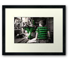 One day when I'm big... Framed Print