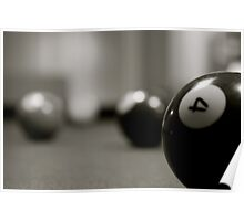 Four Ball Poster
