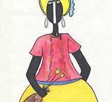 Brazilian Woman by Camilla Juliana Gonzalez