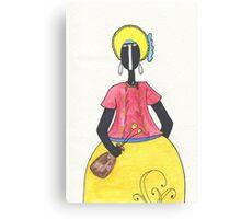 Brazilian Woman Canvas Print