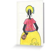 Brazilian Woman Greeting Card