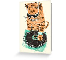 Scratch Master Kitty Cat Greeting Card