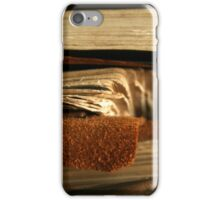 Stacked Antique Books iPhone Case/Skin