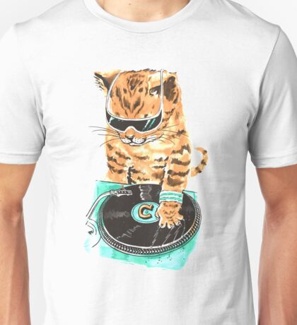 Scratch Master Kitty Cat Unisex T-Shirt