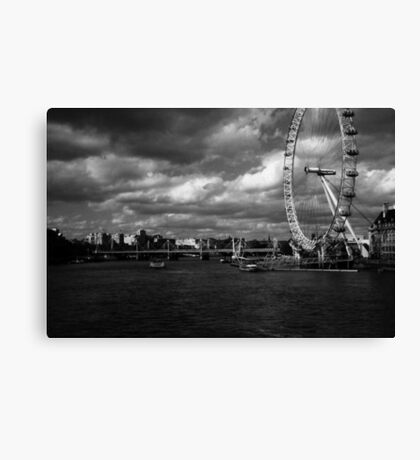 The Eye of the Storm. Canvas Print