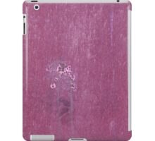 Abstract background in mauve iPad Case/Skin