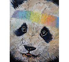 Hippy Panda Photographic Print