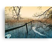 Freezing Fog - Brotherswater. UK Canvas Print