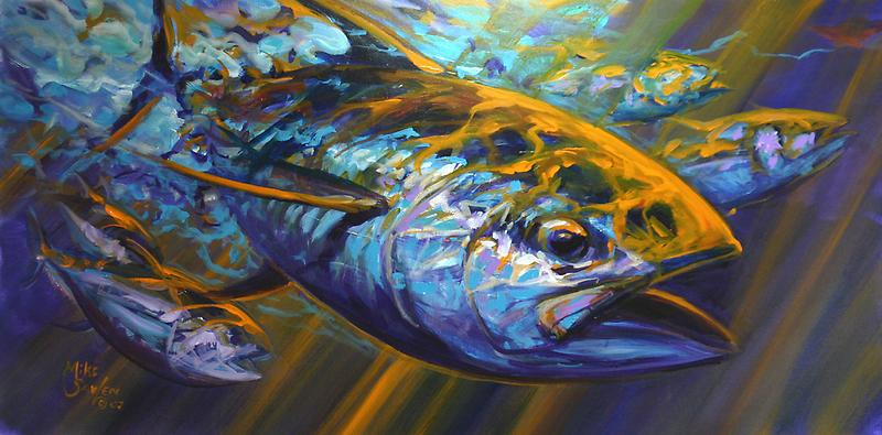 Deep Blue Blitz by Mike Savlen