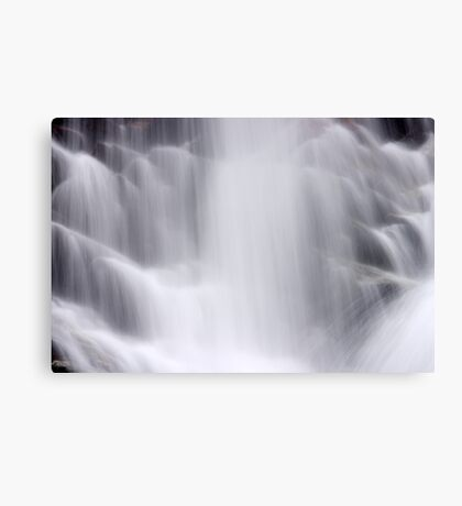 Hidden Falls - Teton National Park - Detail 2 Canvas Print