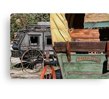 Westward Wagons Canvas Print