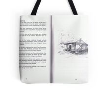Bobs' Book/ Illustrations : Bobs' House & his Mother. Tote Bag