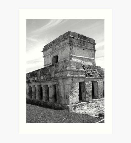 Cozumel Tulum Mayan Ruin Art Print