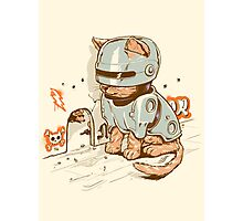 ROBOCAT Photographic Print
