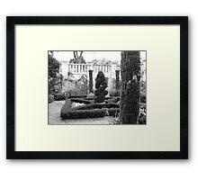 Dallas Arboretum Topiary Framed Print