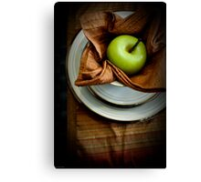 The Placesetting Canvas Print