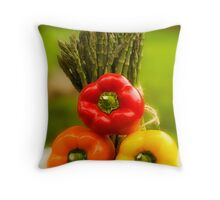 Then There Were Three! Throw Pillow