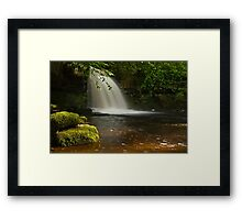 Cauldron Falls Framed Print