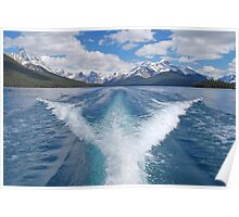Maligne Lake, Canadian Rockies Poster